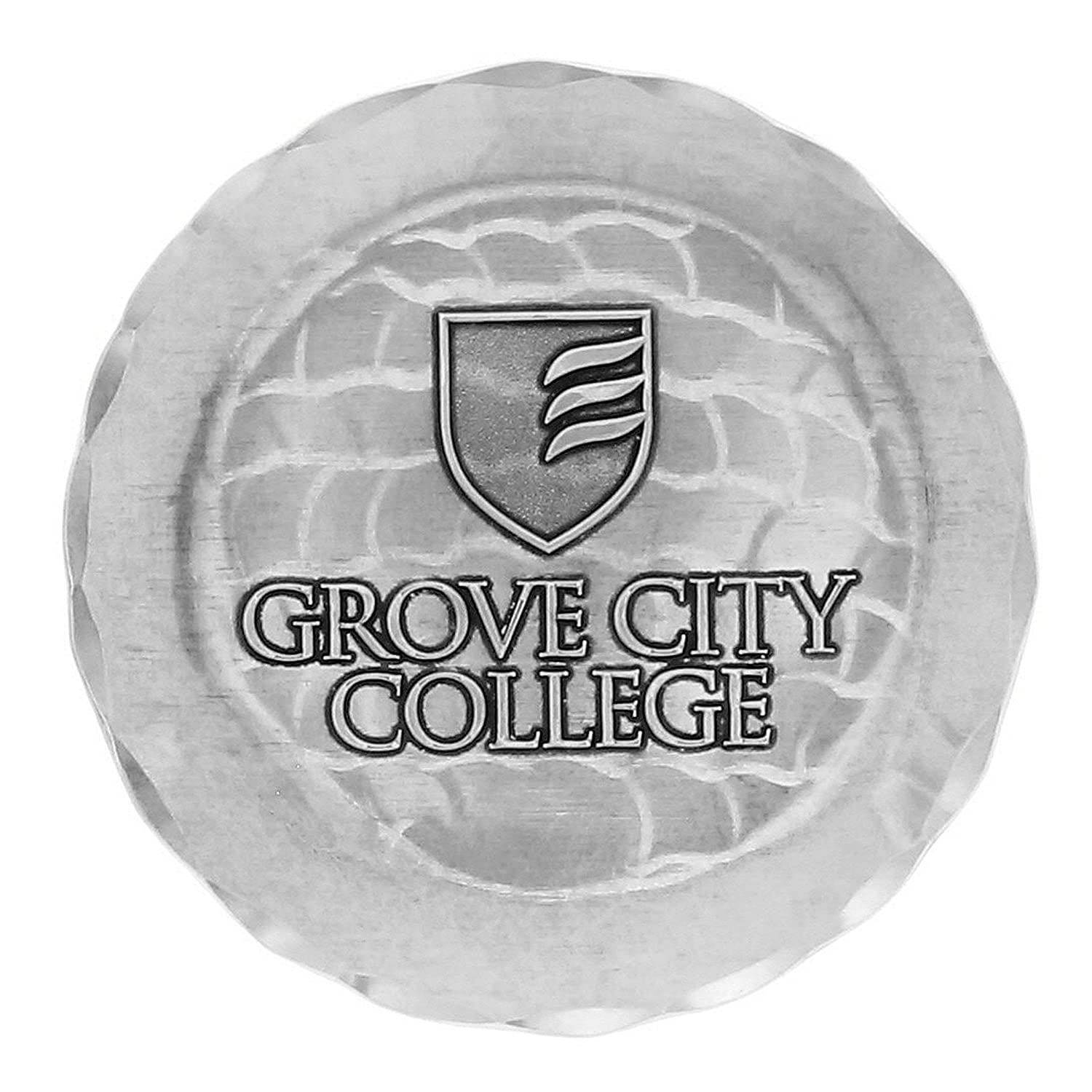 Carnegie Mellon College and University Coaster Wendell August Handcrafted Aluminum