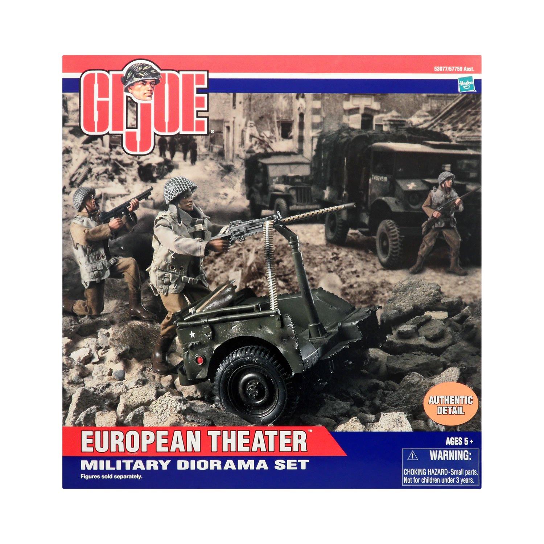 European Theater Military Diorama Set by Hasbro