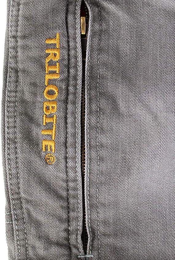 Trilobite 661 - Pantalones Vaqueros para Mujer Gris 26 Long ...