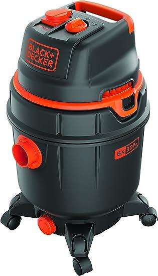 Black Decker 51687 Aspiradora, 1600 W, con depósito 30 litros, con toma de corriente, función automática ON/OFF: Amazon.es: Bricolaje y herramientas