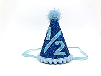 Boy Half Birthday Hat Amazonae LifeinaBalloon