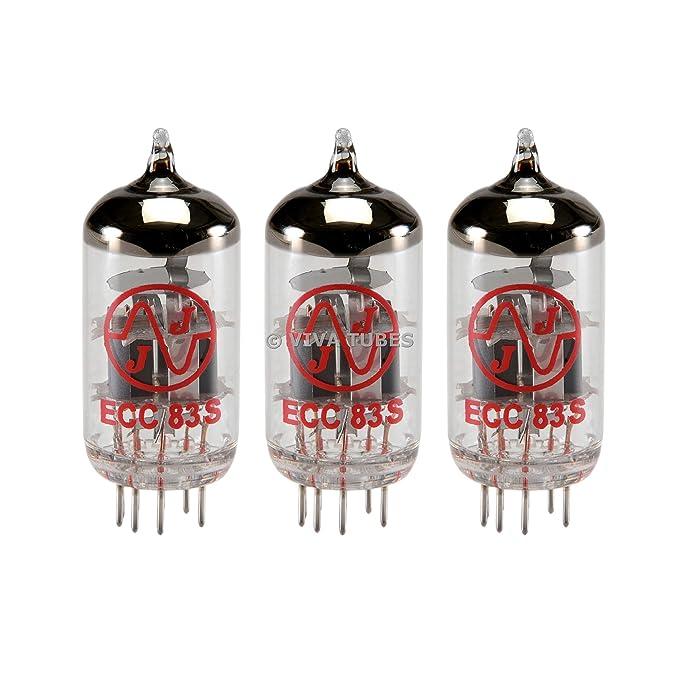 JJ 12 AX7/ECC83 preamplificador Tubos de vacío (3 unidades): Amazon.es: Instrumentos musicales