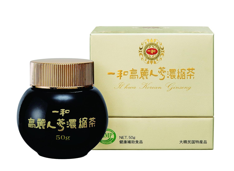 【正規品】一和 高麗人參濃縮茶50g(ゴールド) 高麗人参 B07CH8ZPTD