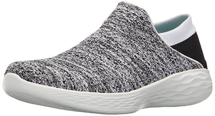 Skechers You de Color Blanco y Negro