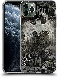 Head Case Designs Officially Licensed Batman DC Comics Graffiti Logo Vintage Fashion Soft Gel Case Compatible with Apple iPhone 11 Pro Max