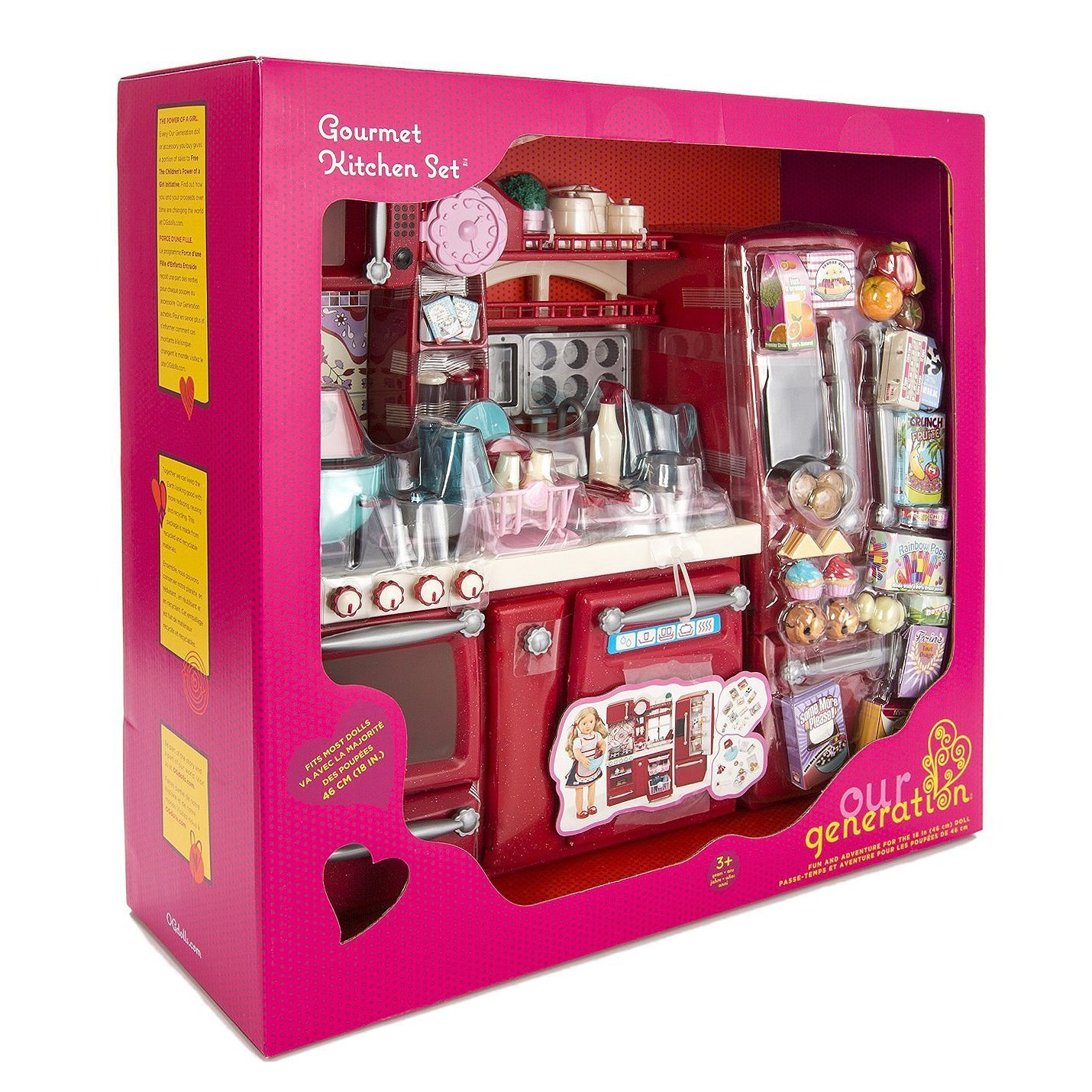 amazon com our generation gourmet kitchen toys u0026 games