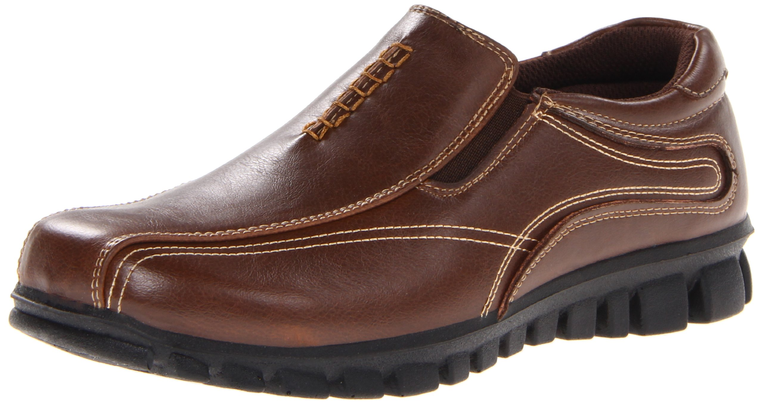 Deer Stags Stadium Slip-On (Little Kid/Big Kid),Brown,4 M US Big Kid