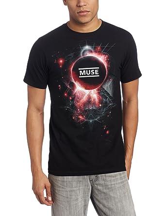 fe462981 Amazon.com: Bravado Men's Muse Neutron Star T-Shirt: Clothing