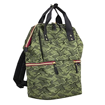 release date 100% satisfaction guarantee choose official BODHI Doctor Bag Style Top Load Backpack Purse With Large Bottom Zipper  Compartment, Green Camo/Black