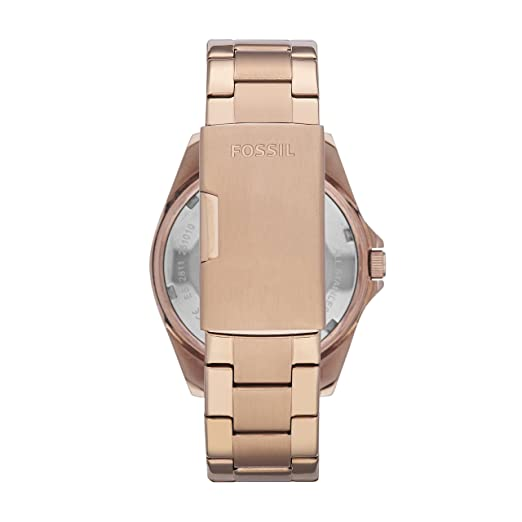 a6d14f5cfdf3 Amazon.com  Fossil Women s Riley Quartz Stainless Steel Chronograph Watch