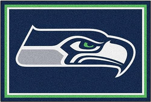 Fanmats Seattle Seahawks 5×8 Rug