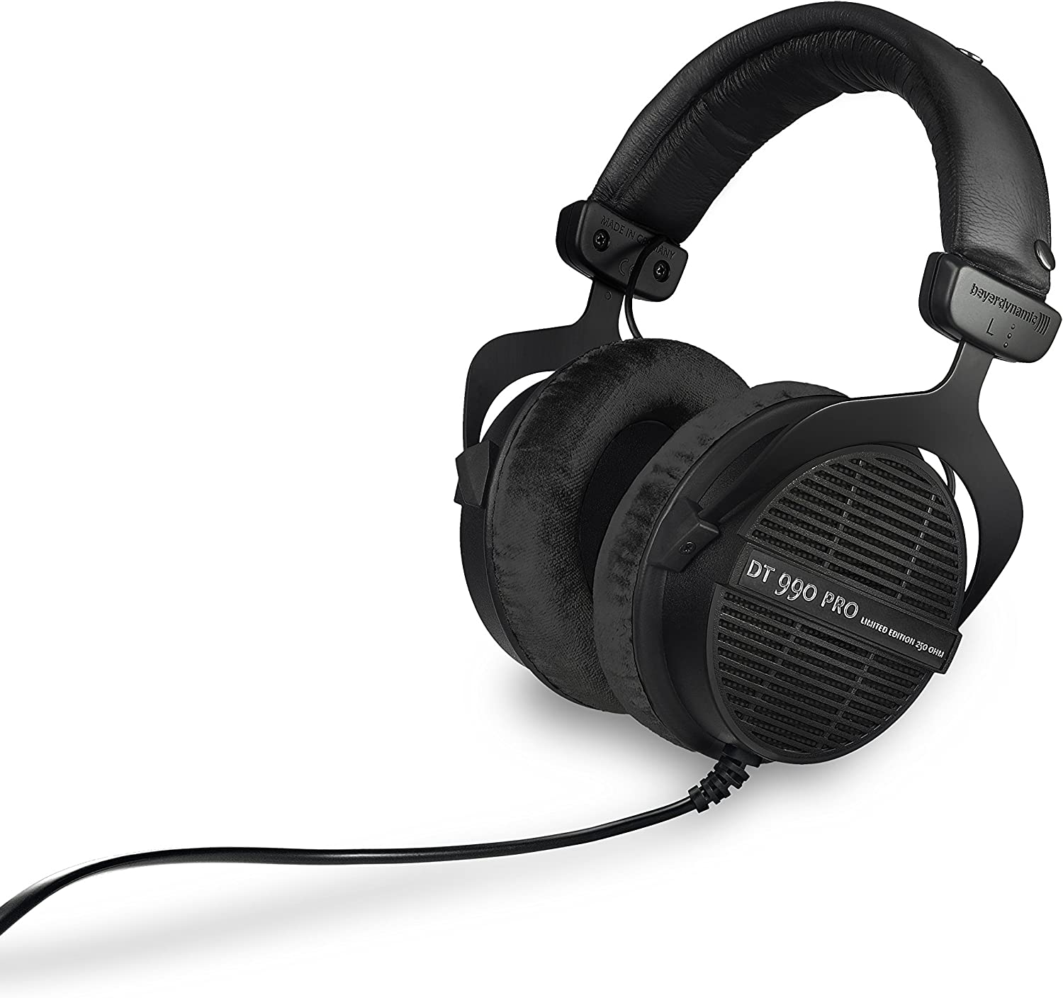 beyerdynamic DT 990 PRO 250 ohm - LIMITED EDITION (Black, Straight Cable)