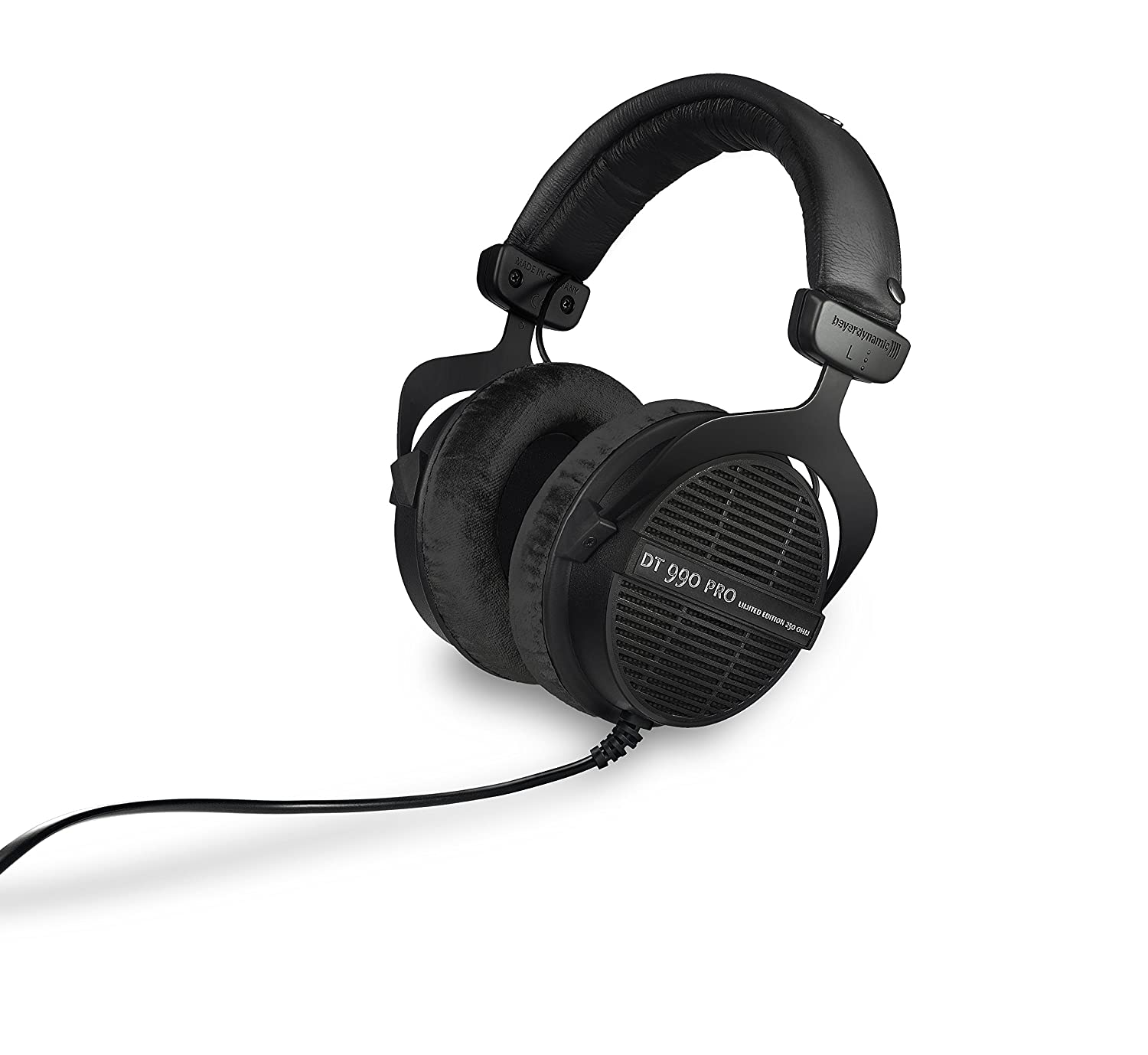 beyerdynamic DT 990 PRO 250 ohm – LIMITED EDITION Black, Straight Cable