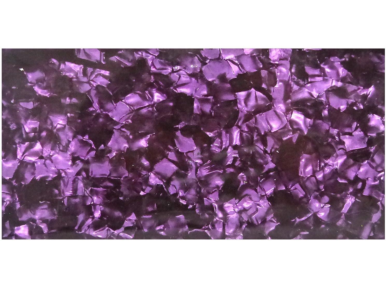 Incudo viola perlato celluloide fogli–200x 100x 0.8mm (20,1x 10x 0,1cm) 1x 10x 0 1cm) Rothko And Frost RF0030