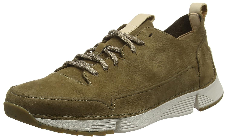 Clarks Tri Spark, Zapatillas para Hombre 42.5 EU|Verde (Khaki -)