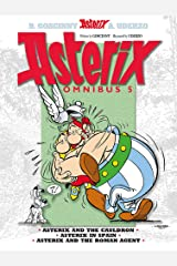 Omnibus 5: Asterix and the Cauldron, Asterix in Spain, Asterix and the Roman Agent Paperback