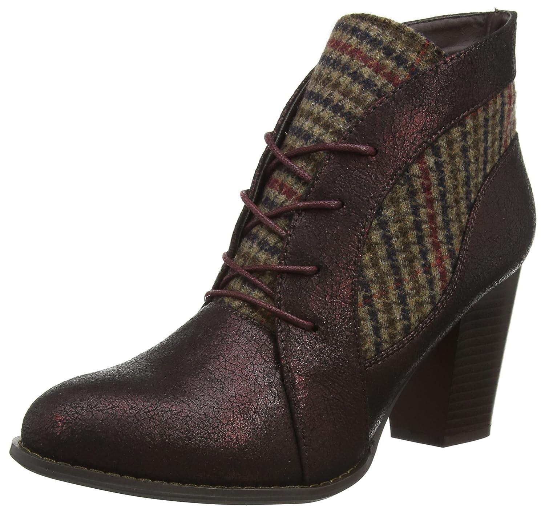 Joe Browns Ultimate Tweedy Ankle Boots, Botas para Mujer Morado (Plum Multi A)