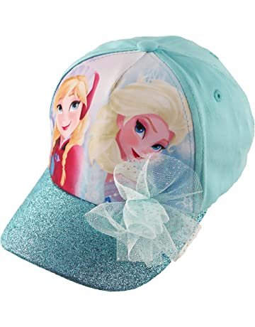 a7d3fbb9d4e42a Disney Frozen Elsa and Anna Cotton Baseball Cap with Glitter Pom