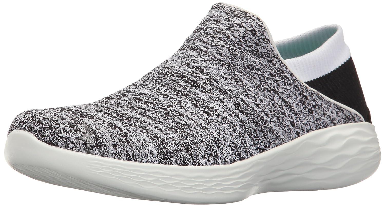 Skechers Women's You Walking Shoe B01M6BXWBQ 12 B(M) US|White/Black