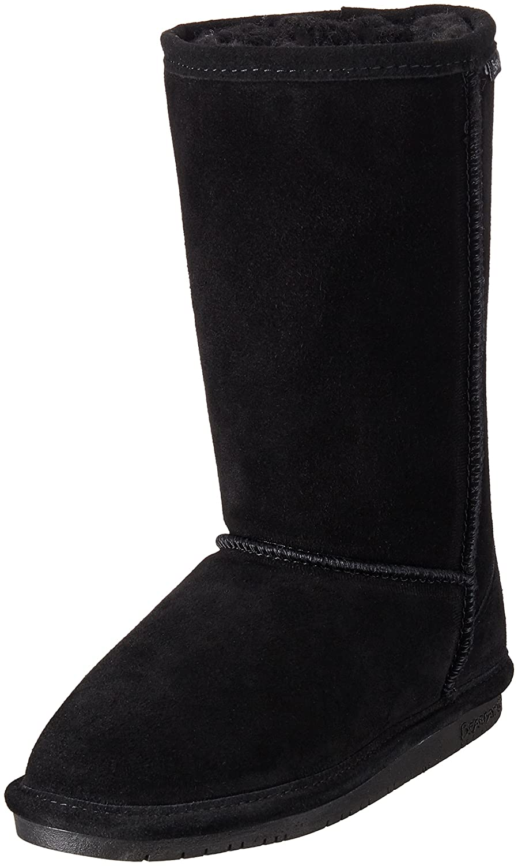 BEARPAW Women's Emma Tall Fashion Boot B01FI5SR6A 12 B(M) US Black Ii