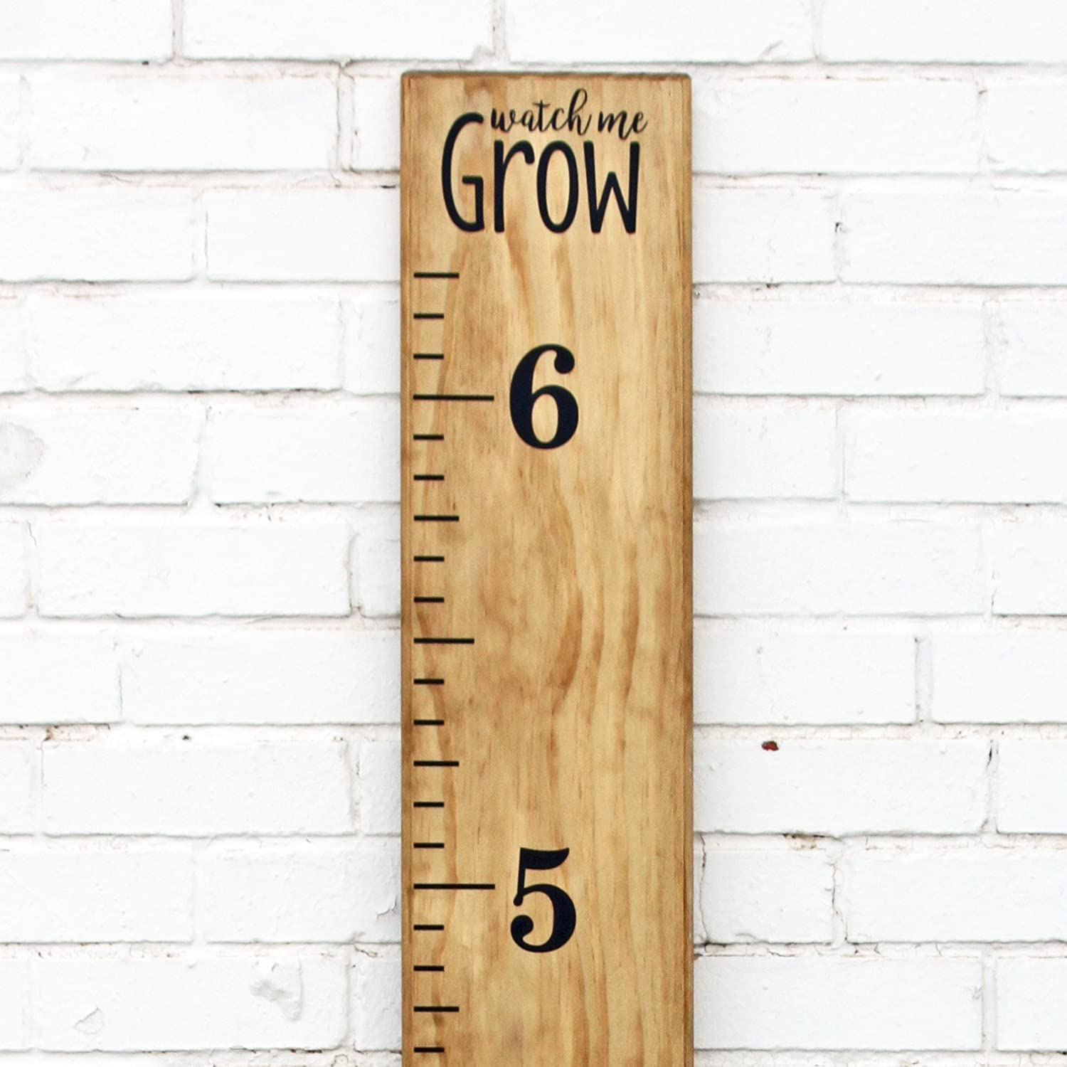 Little Acorns Diy Vinyl Growth Chart Ruler Decal Kit Watch Me Grow