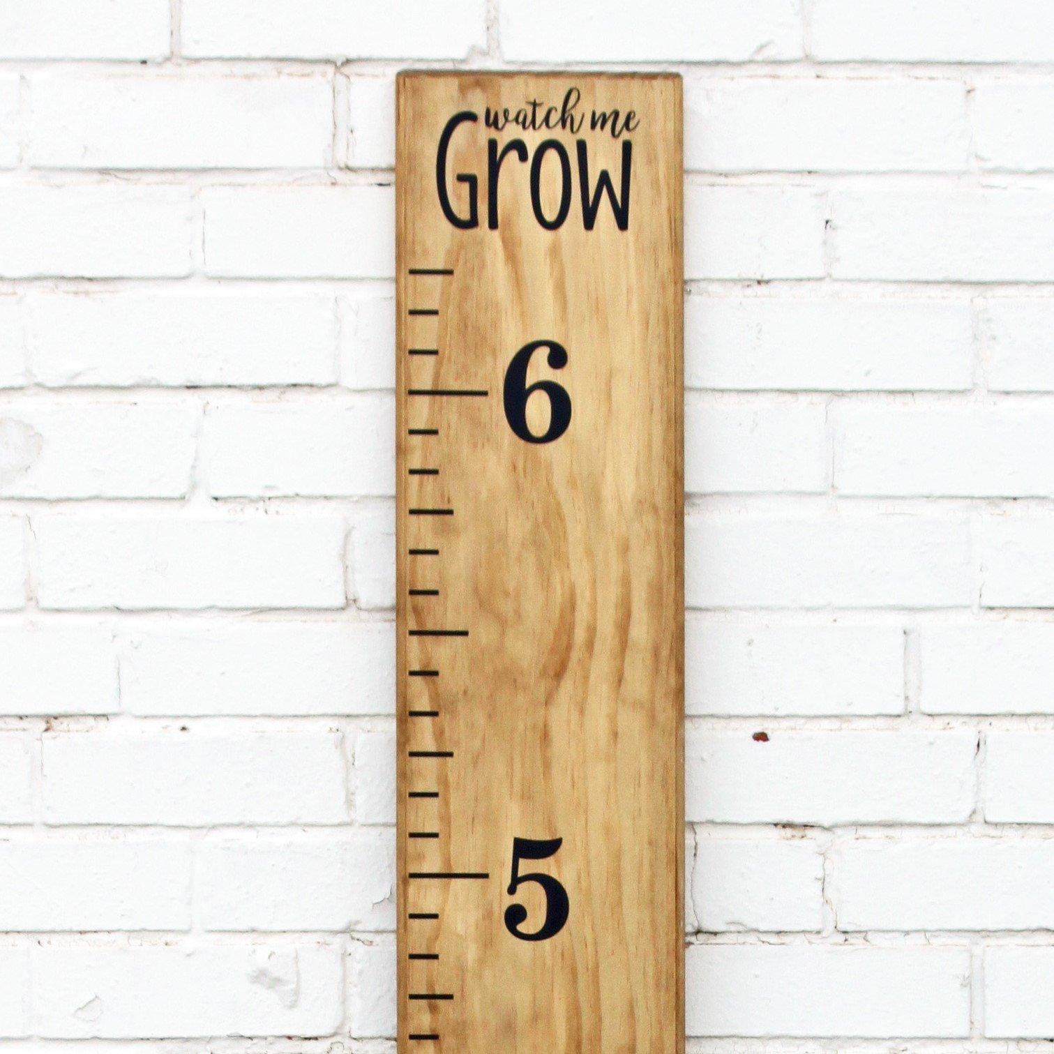 DIY Vinyl Growth Chart Ruler Decal Kit, Watch Me Grow