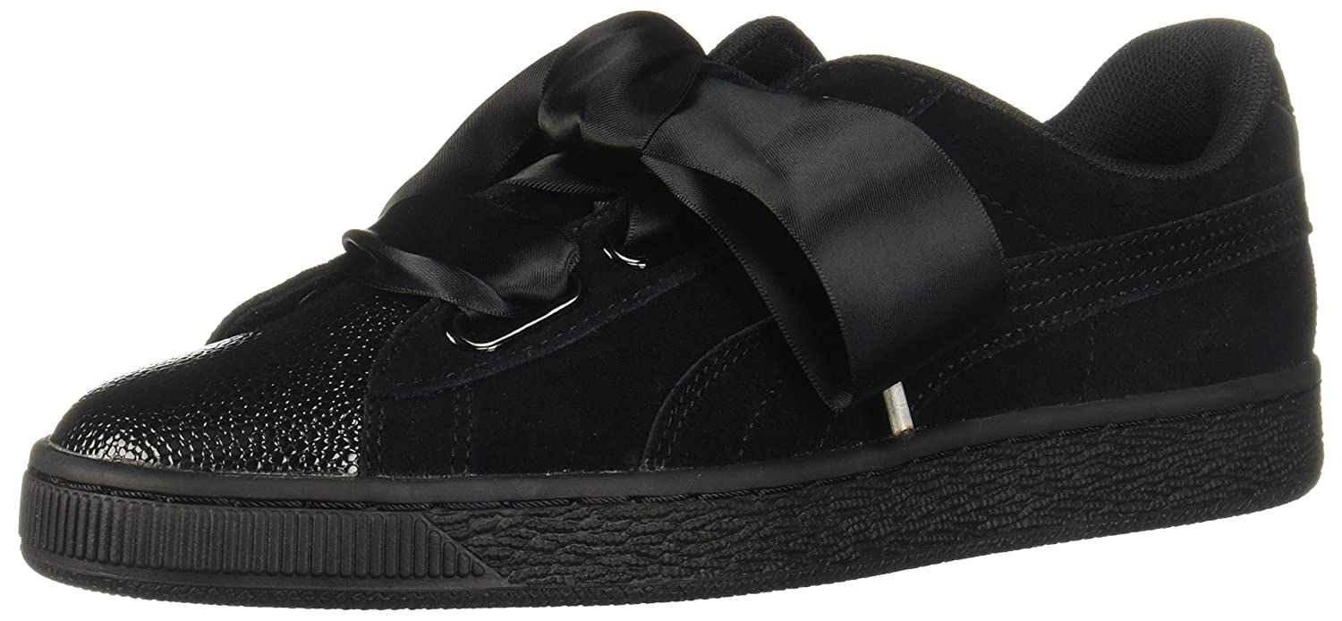 PUMA Suede Heart Bubble B075RF3ZHK 8 M US|Puma Black