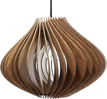 wodewa – Panel Techo Madera I moderna lámpara de techo Ventus I ...