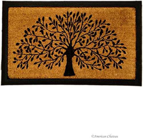 IH CASADECOR Tree Doormat, Brown Black