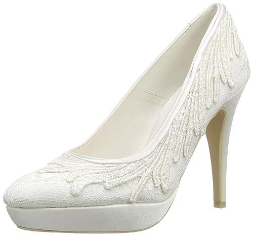 Tacón Barbara De Raso Zapatos Cerrados Menbur Mujer Wedding YyvI76mgbf
