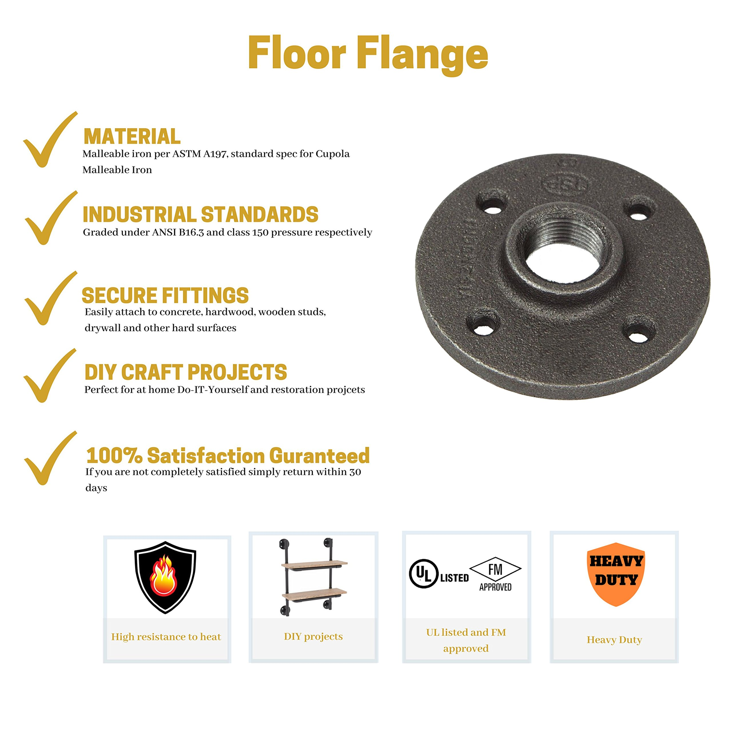 side floor flange ldr grey inch elbow cor outlet customer reviews fitting industrial pcr d fittings steel rated in pipes helpful way best pipe