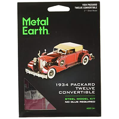Fascinations Metal Earth 1934 Packard Twelve Convertible 3D Metal Model Kit: Toys & Games