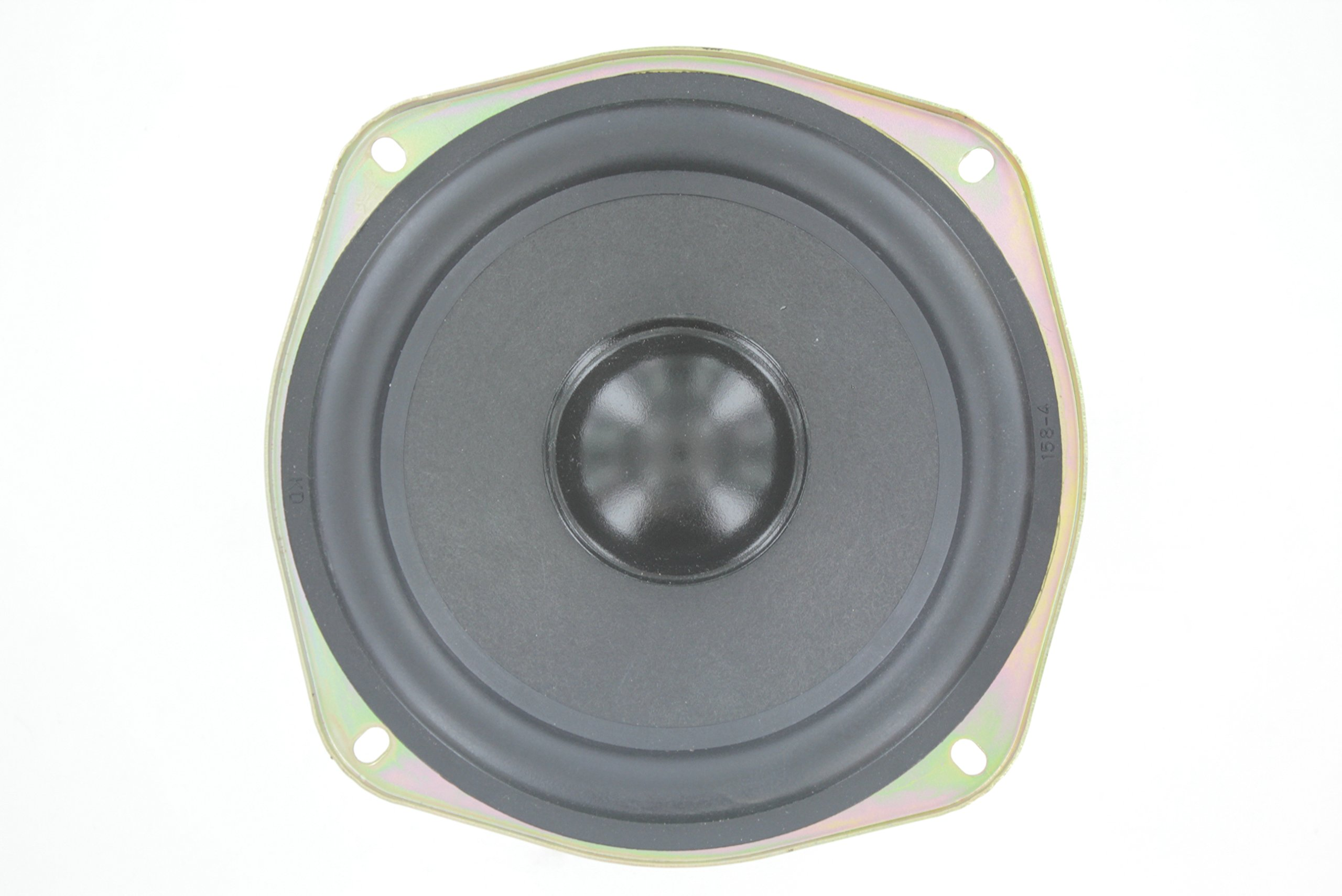 MIYAKO USA Classic Car Speaker 150 Watts 8 ohms Double Magnet Replacement for Round Shape Speakers (1 Pair) (SW-612S)