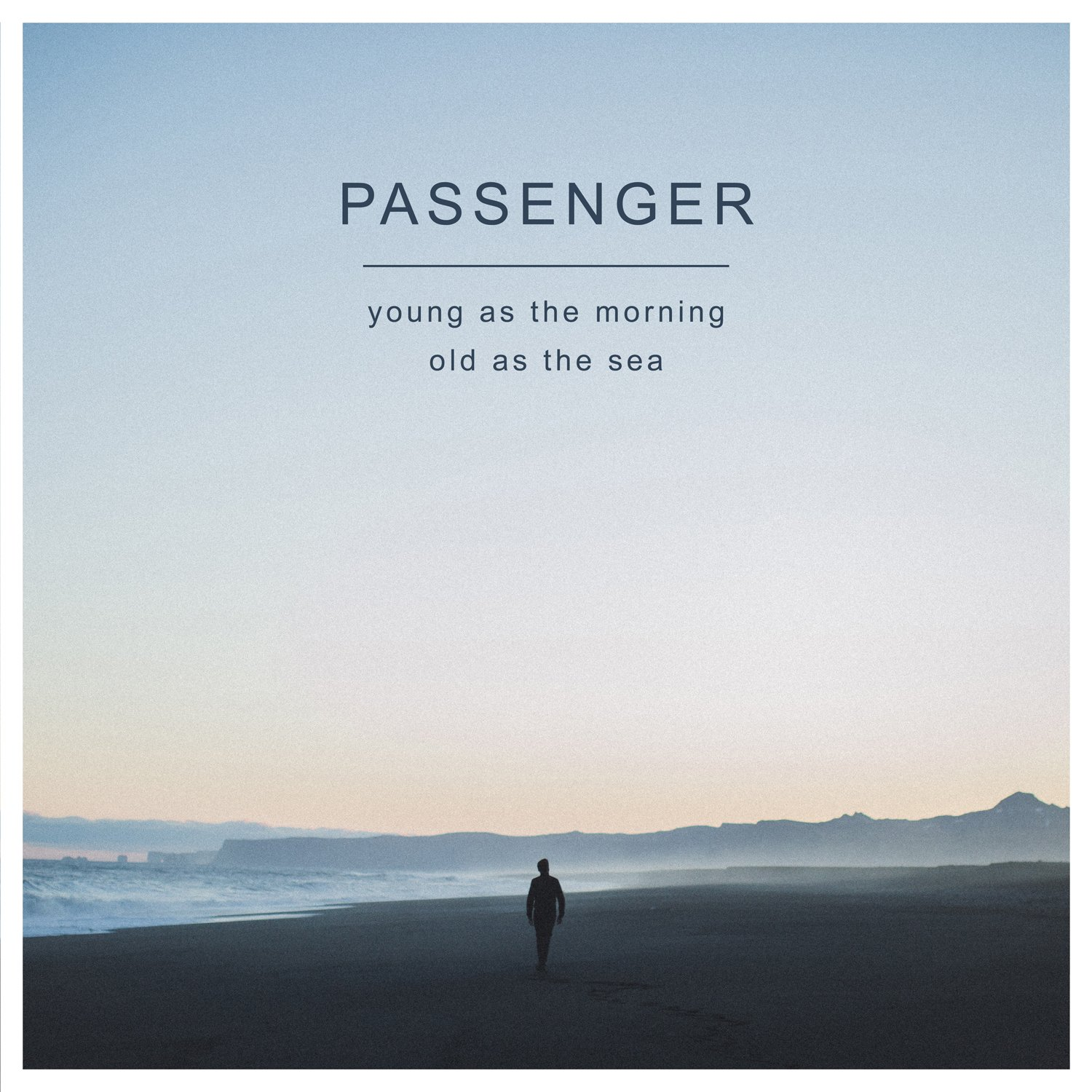 CD : Passenger - Young as the Morning Old as the Sea (With DVD, 2 Disc)