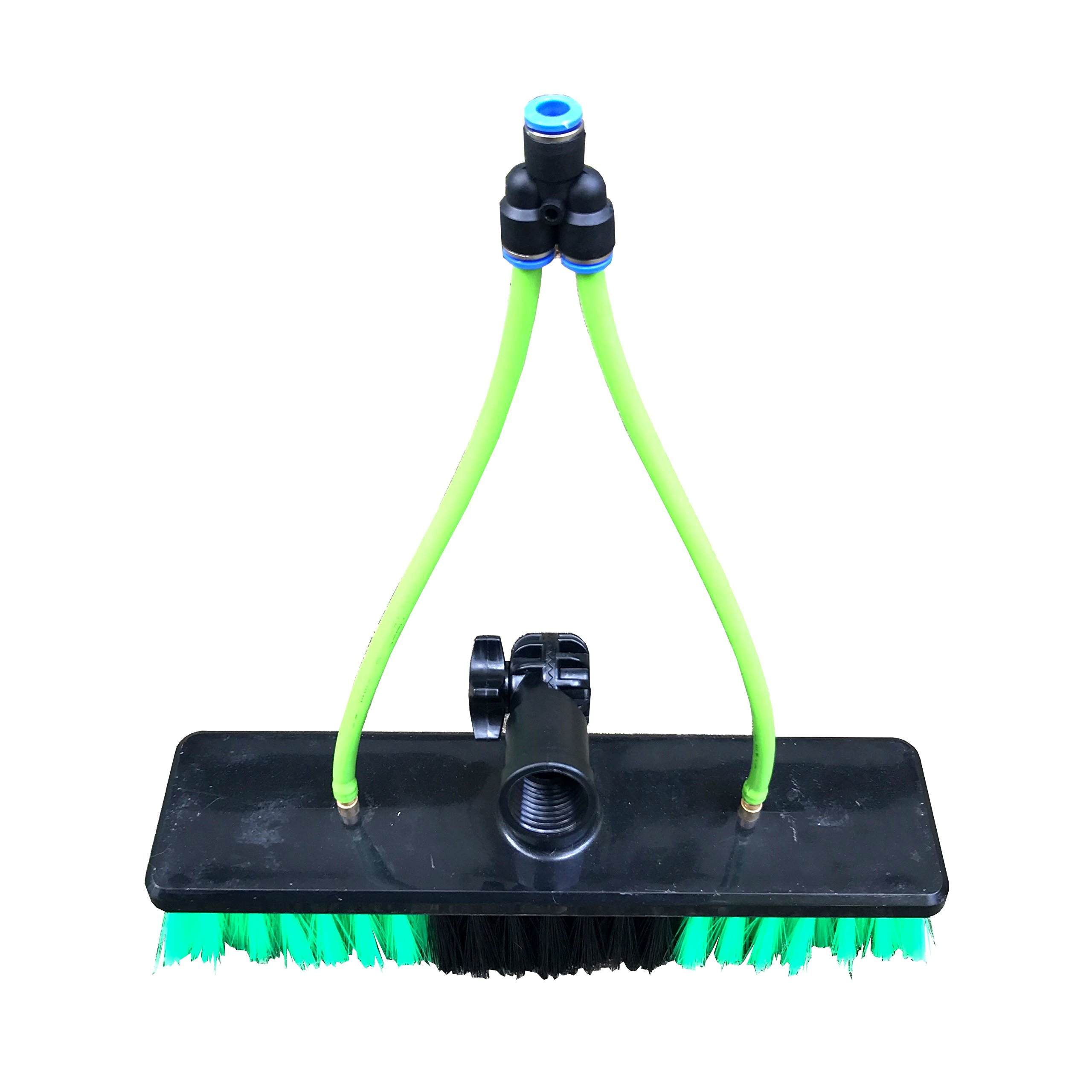 30 ft Water Fed Pole, Window & Solar Panel Cleaning Tool with Brush & Squeegee AquaSpray by EquipMaxx by EquipMaxx AquaSpray (Image #9)