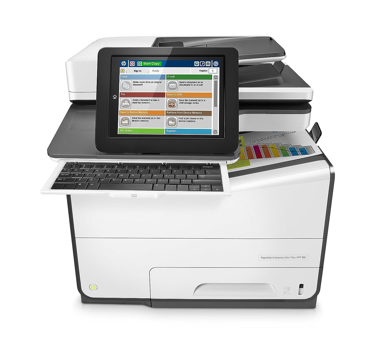 HP PageWide Enterprise Color Flow MFP 586z Inyección de ...