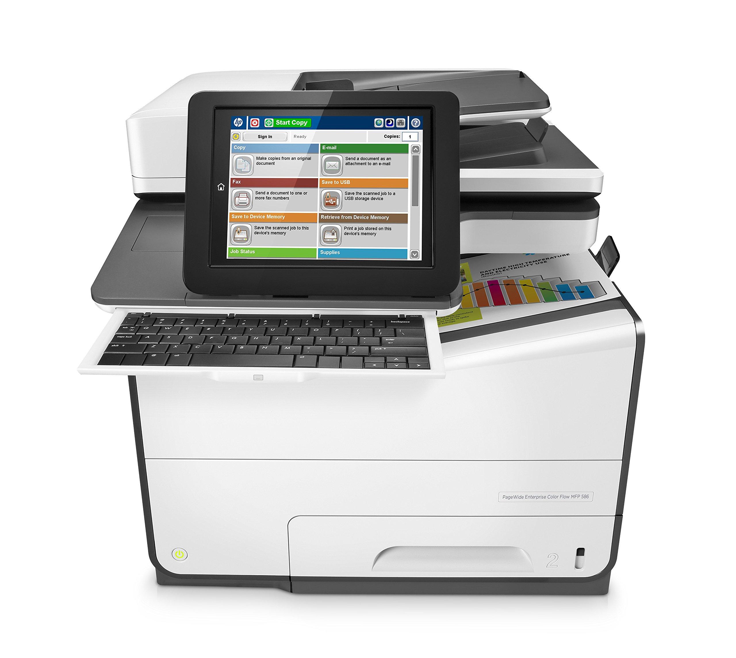 HP INC HP PageWide Enterprise Colour Flow MFP 586z