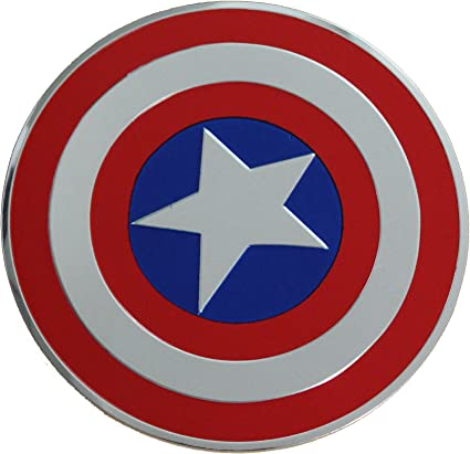 Captain america shield Costume Super Hero Symbol Embroidered Iron-on  Sew-On Patch 2Pcs