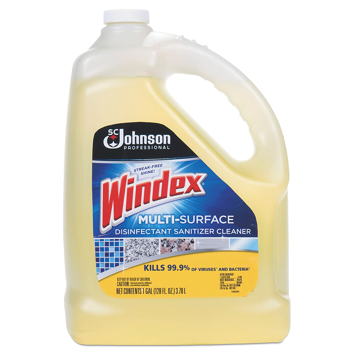 huge selection of e2754 8a39f Amazon.com: Windex 657067 T Multi-Surface Disinfectant Cleaner ...