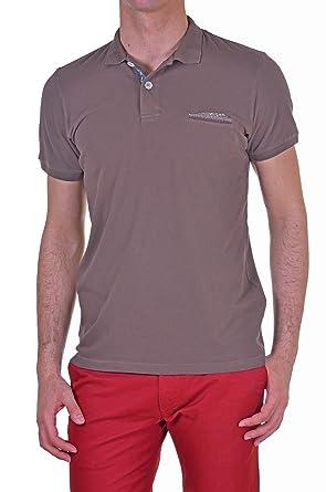 Malagrida - Polos Hombre Slim marrón L: Amazon.es: Ropa y accesorios
