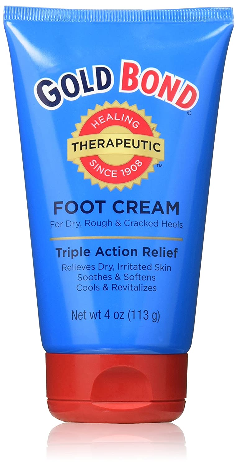 Gold Bond Foot Cream Triple Action 4oz (2 Pack) TRTAZ11A