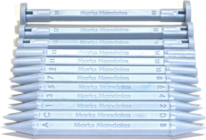 Marks Mandalas 24 Sizes Dotting Tool Set