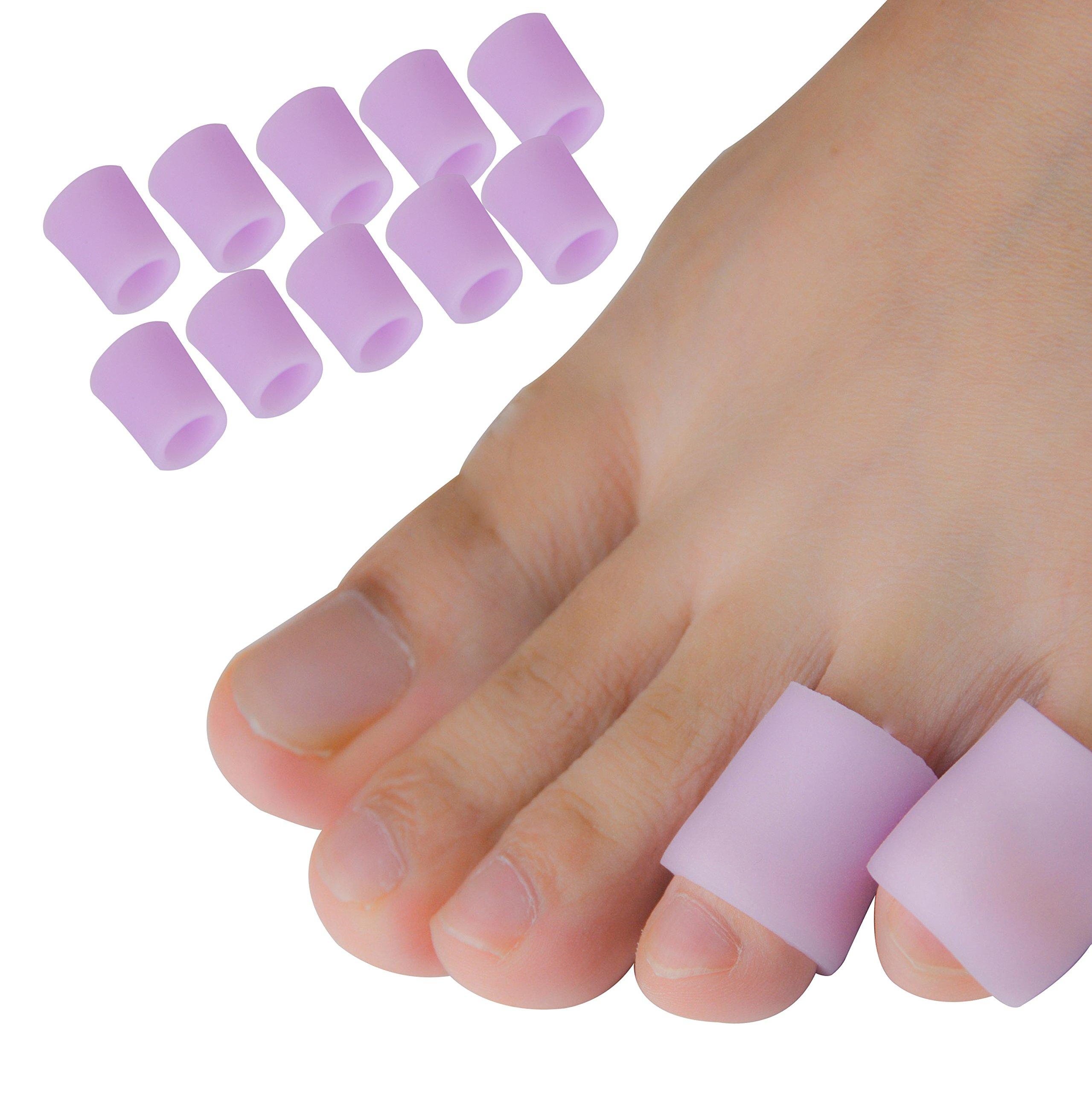 Amazon.com: Pinky Toe Cushion Splint, Gel Toe Separators, Little Toe ...