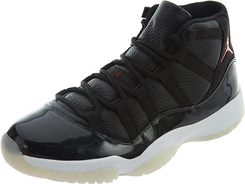 new styles 7d14a b73bf Nike Herren Air Jordan 11 Retro Turnschuhe, (Schwarz Gym Rot-Weiß-