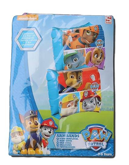 Amazon.com: Paw Patrol hinchable de brazaletes: Toys & Games