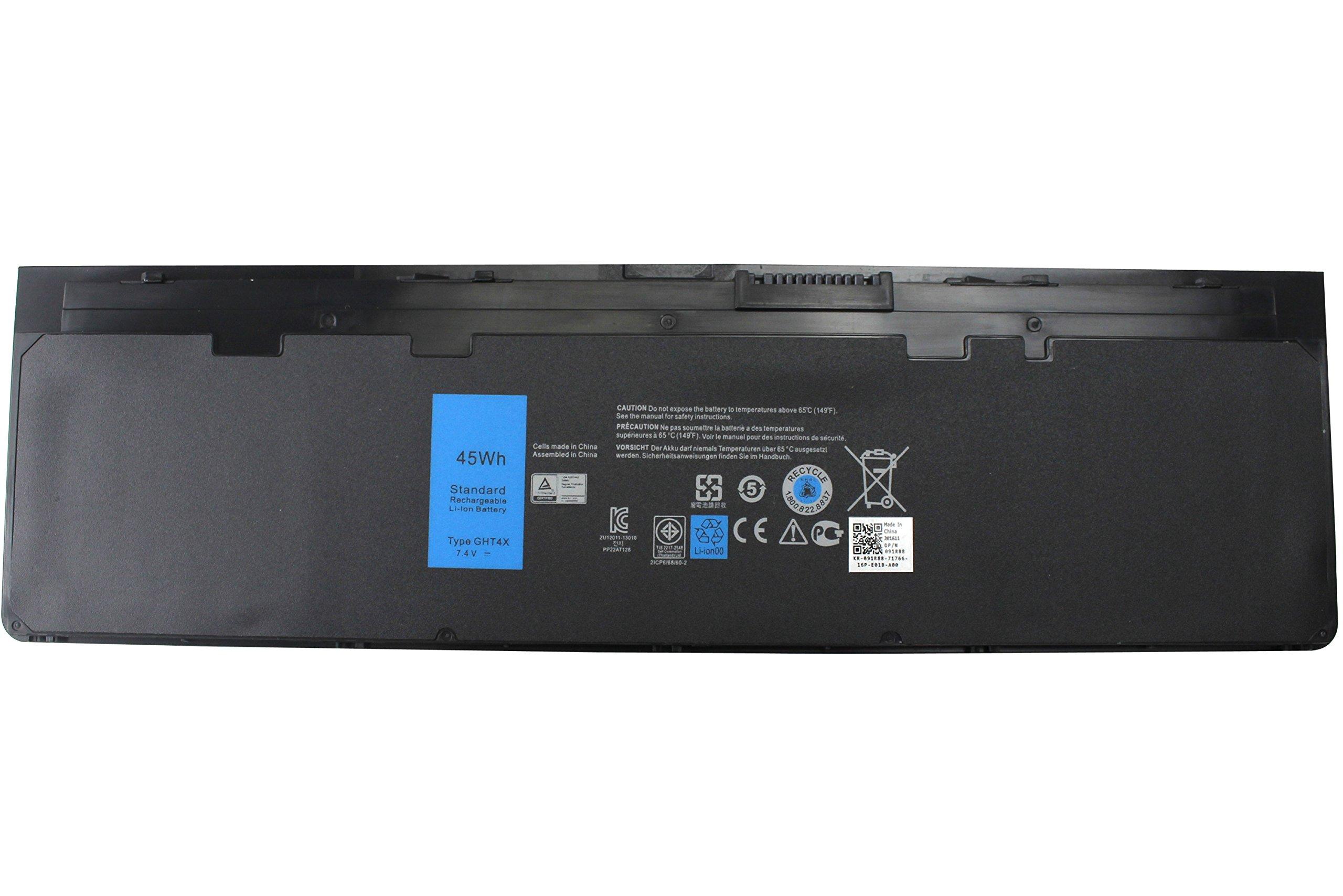 Bateria E7240 GHT4X 7.4V 45WH 4 Celdas 12.5 para Dell Latitude E7250 GD076 Ultrabook X01 PT1 451-BBFX 451-BBFW 451-BBFT