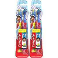 Colgate Kids Toothbrush with Extra Soft Bristles, Ryan's World - 4 Count