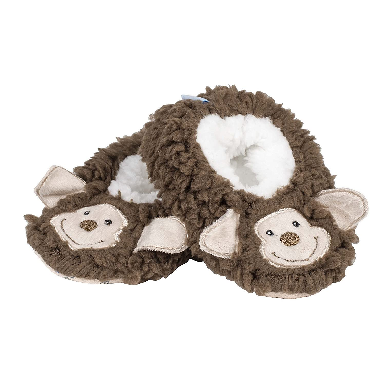 Snoozies Baby Plush Sherpa Animal Booties