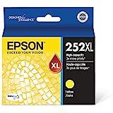 Epson T252XL220 DURABrite Ultra 青色 高容量墨盒墨水 黄色