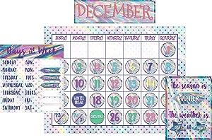 Iridescent Calendar Bulletin Board